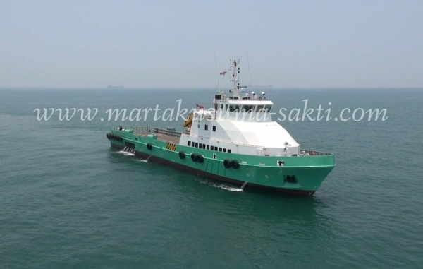 Martakusuma-Sakti com / Crew Boat / 50m DP1 Fast Supply Intervention